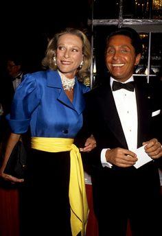 Nan Kempner and Valentino