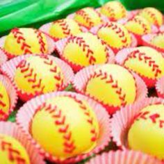 How cute! Love softball!  Makes me think of my younger days.  LOL!