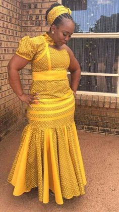 sishweshwe outfits for ladies 2017 / 2018 ⋆ African Fashion Designers, African Print Fashion, Africa Fashion, African Fashion Dresses, Beautiful African Women, Beautiful Dresses For Women, South African Traditional Dresses, Traditional Outfits, African Attire