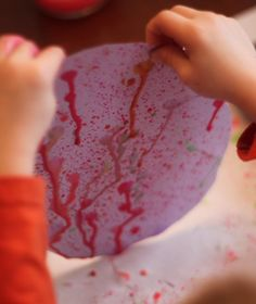 Splatter Paint and Drip Painting!