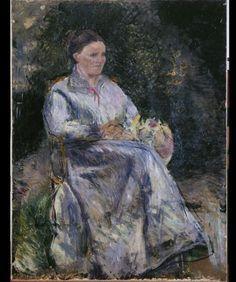 Camille Pissarro, Julie Pissarro, vers 1874, , Musée des Beaux-Arts de la Ville de Paris, Petit Palais © Petit Palais / Roger-Viollet