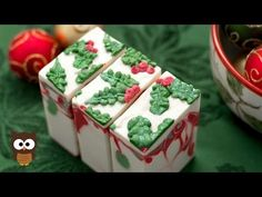 Winter Soap Series: Holly Jolly Soap (Full Version) - MO River Soap - YouTube