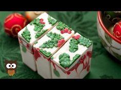Winter Soap Series: Holly Jolly Soap (Full Version) - MO River Soap - YouTube