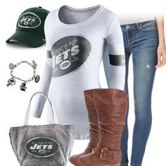 Cute New York Jets Outfit