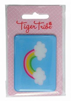 Jumbo Rainbow Magnet by Tiger Tribe! This giant epoxy magnet is perfect for holding artwork, invitations, party prizes, gift bag prizes and little gift add ons! Childrens Gifts, Kids Gifts, Rainbow Party Favors, Tiger Tribe, Party Prizes, Online Party Supplies, Kids Online, Online Gifts, Little Gifts