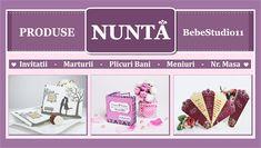 BebeStudio11.com - Invitatii Nunta si Botez: Produse Nunta