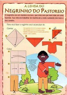 Negrinho do Pastoreiro origami