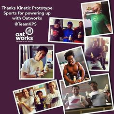 Thanks @teamkps for showing the love! Keep powering up with #oatworks!