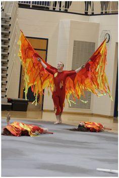 The Firebird show from 2011 winter season Spooky Costumes, Carnival Costumes, Diy Costumes, Dance Costumes, Costume Ideas, Pheonix Costume, Mardi Gras, Fire Costume, Fire Fairy
