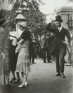 Londres antiguo. Royal Garden Party - c.1922