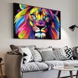 Le Lion Pop Art – Adonisky... Pop Art, Lion, Tapestry, Home Decor, Leo, Hanging Tapestry, Tapestries, Decoration Home, Room Decor