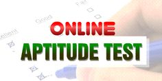 An aptitude test designed with color-word association approach is the best option for you