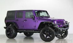2014 JEEP Wrangler Unlimited - PURPLE!! GIVE THIS TO ME NOW.