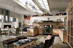 küchendesign industrieller look ergonomisch vintage