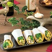elegant street tacos- lol Sal would love nothing more than tacos at his wedding! Something to consider, I guess haha!
