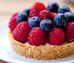 Stronger Together: Fresh Berry Cream Tartlets