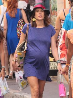 "Charlotte Casiraghi, this opening line from the movie Papillion I believe to be true, ""Forget about France, put your clothes back on"". - Leave with me."