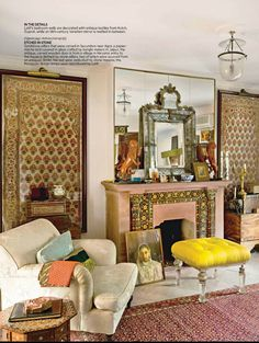 Modern Indian Style living room from Architectural Digest India