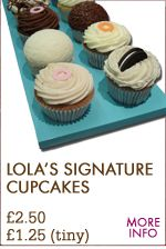 LOLA's Cupcakes - Online Store