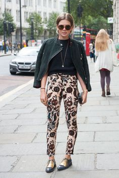 Street style at London Fashion Week. Photo: Imaxtree