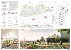 AWR Competitions - Architecture Workshop in Rome Presentation Layout, Presentation Boards, Architectural Presentation, Vertical Farming, Architecture Board, Nursery School, Young Designers, Urban Planning, Fields