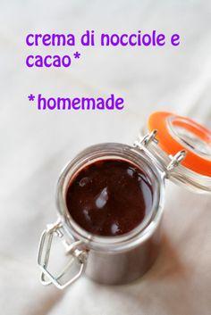 crema di nocciole e cacao homemade