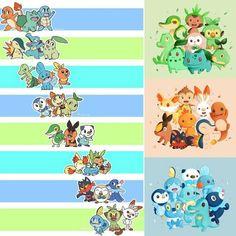 Pokemon Poster, Pokemon Comics, Pokemon Memes, All Pokemon, Pokemon Fan Art, Cute Pokemon, Pikachu, Manga, Pokemon Starters