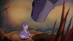 So I found out recently the screen writing professor at my University wrote land before time... Needless to say, I shall soon be thanking him for my childhood - Imgur
