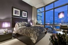 Exclusive Plum from Sherwin-Williams.  Love this purple/gray color in my master bedroom and bath.