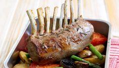 Lean roast: Maple rosemary rack of lamb