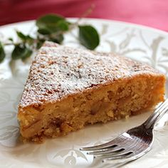 Italian Apple Cake.Very moist and addictive