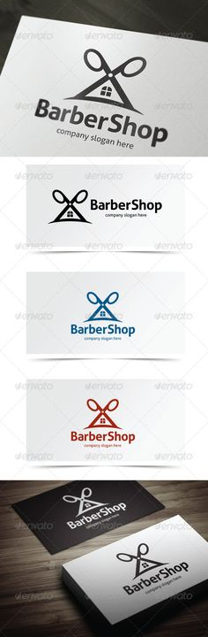 Barber Shop — Vector EPS #hair style #style • Available here → https://graphicriver.net/item/barber-shop/5638956?ref=pxcr