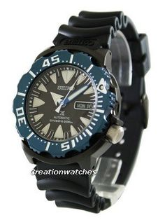 Seiko Prospex Air Diver 200M Monster SRP581K1 SRP581K Men's Watch