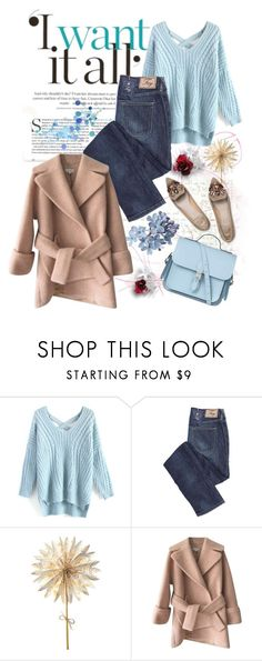 """""""Bringing your beautiful at the light"""" by serenair ❤ liked on Polyvore featuring Chicwish and Carven"""
