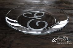 Secrets to Successful Glass Etching :: using contact paper cut with Silhouette