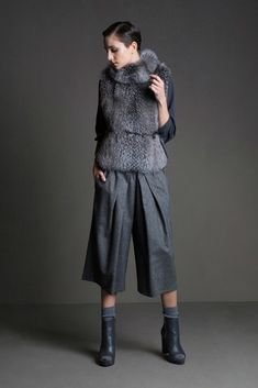 how to wear culottes with boots - Google Search