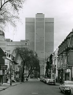 Place Ville Marie 1970, montreal