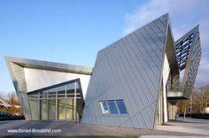 Daniel Libeskind prefab concept house - Casa prefabricada futurista diseñada por Libeskind