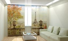 картинка Фотошторы Парижский балкон магазин Рим-Декор