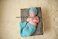 Molly Mermaid crochet PATTERN 0-3 months  3-6 months  Instant Download by Pontepretties on Etsy https://www.etsy.com/listing/112684352/molly-mermaid-crochet-pattern-0-3-months
