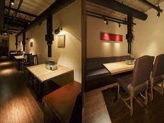 YOKOYAMA restaurant by Nakagawa Design Office restaurant