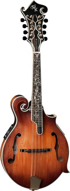 MICHAEL KELLY F Style Mandolins Legacy Dragonfly Flame Electric
