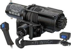 KFI Products SE45 ATV Stealth Winch Kit  4500 lb Capacity *** You can get more details by clicking on the affiliate link Amazon.com.