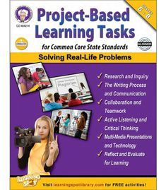 If you are looking for specific Project Based Learning Tasks, then this is the book for you. Not only does it include specific projects that you can use right away but also includes grading matrices, detailed information on how to implement the projects and more.