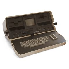 The Osborne 1, the world's first laptop computer.