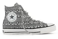 Chuck Taylor All Star Hi - Wilderness Sweater - Charcoal