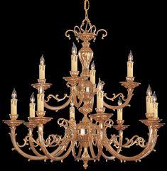 Crystorama 489-OB Etta 12 Light Olde Brass Chandelier Lighting   DelMarFans.com Vintage Crystal Chandelier, Candle Chandelier, Chandelier Lighting, Dim Lighting, Lighting Design, Large Candles, Showcase Design, Incandescent Bulbs, Ceiling Lights
