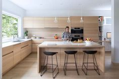 Pink House kitchen in Vancouver by @scottposno