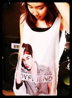 JUSTIN BIEBER Boyfriend Tank Top Women Shirt by WeAreYoungShop, $14.99