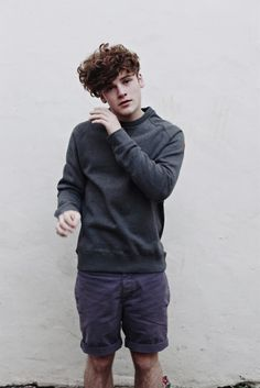 Hair sweater shorts fashion men tumblr